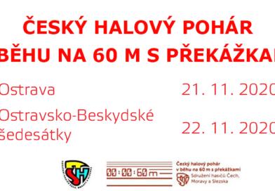 Český halový pohár – termíny